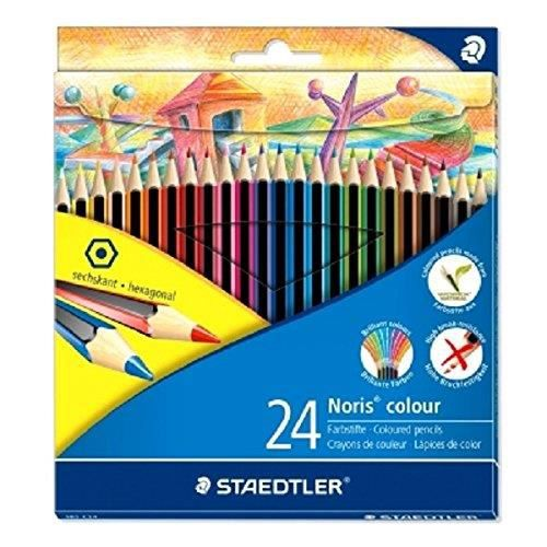 Noris Colour 185 Crayon De Couleur Wopex Noir