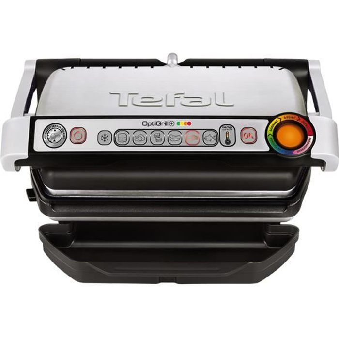 tefal gc712d12 grille viande lectrique optigrill inox achat vente grill lectrique. Black Bedroom Furniture Sets. Home Design Ideas