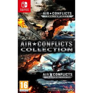 SORTIE JEU NINTENDO SWITCH Air Conflicts Collection (Secret Wars + Pacific Ca