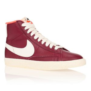 Bordeaux Blazer Femme Blanc Nike Achat Baskets Vente Leather 5BqwwnRaxI