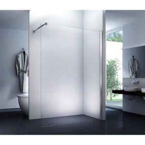 CABINE DE DOUCHE douche à l'écran dans la paroi latérale en verre c