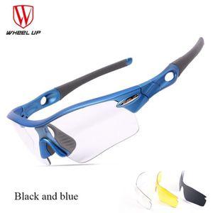 LUNETTES DE SOLEIL WHEEL UP VTT Bicycle Road lunettes de soleil anti-