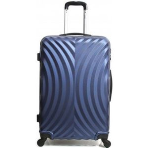 VALISE - BAGAGE Valise Cabine-ABS - Rigide -50 cm LAGOS-BLEU
