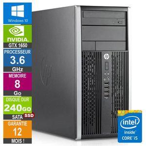 UNITÉ CENTRALE  PC Gamer LPG-6300T Core i5-3470 3.60GHz 8Go/240Go