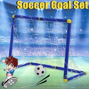 CAGE DE FOOTBALL Mini But De Football Jeux Sport Portable Pour Enfa