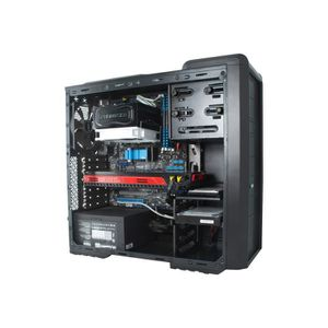 BOITIER PC  NOX Coolbay SX Green Edition tour midi ATX pas d'a