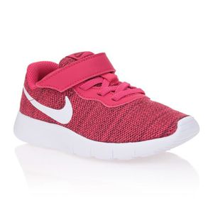 official photos 592d3 67605 BASKET NIKE Baskets Tanjun - Enfant garçon - Rouge