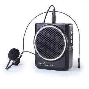 AMPLIFICATEUR HIFI AKER Amplificateur voix portable haut parleur avec