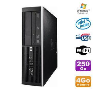UNITÉ CENTRALE  PC HP Elite 6000 Pro SFF E5400 2.7Ghz 4Go Disque 2