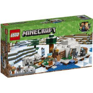 ASSEMBLAGE CONSTRUCTION LEGO® Minecraft™ 21142 L'igloo-nouveautes 2018- Je