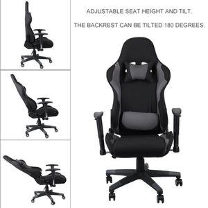 CHAISE DE BUREAU Fauteuil gamer Design Modern Ergonomique Chaise de