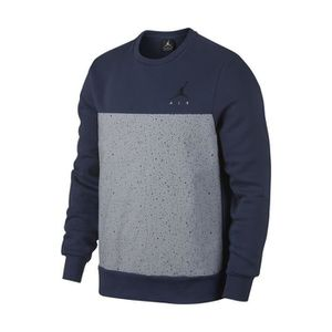 Sweat Nike Jordan Flight Fleece 884047 410 Bleu Achat