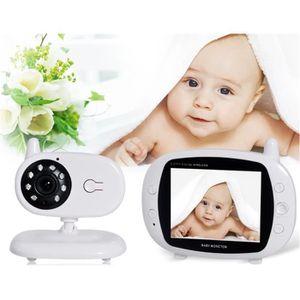 ÉCOUTE BÉBÉ 850 3.5 '' coloré 2,4g d'écran vidéo sans fil bébé