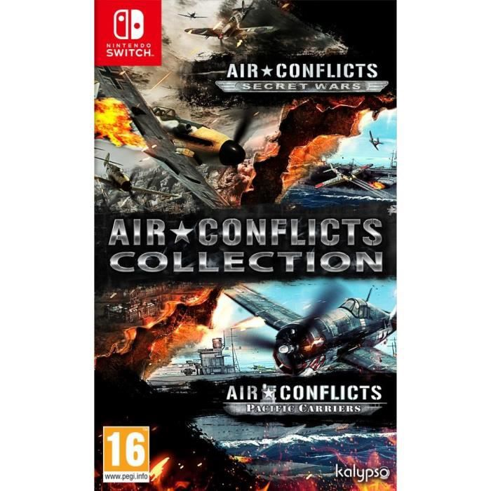 Air Conflicts Collection (Secret Wars + Pacific Carriers) Jeu Switch