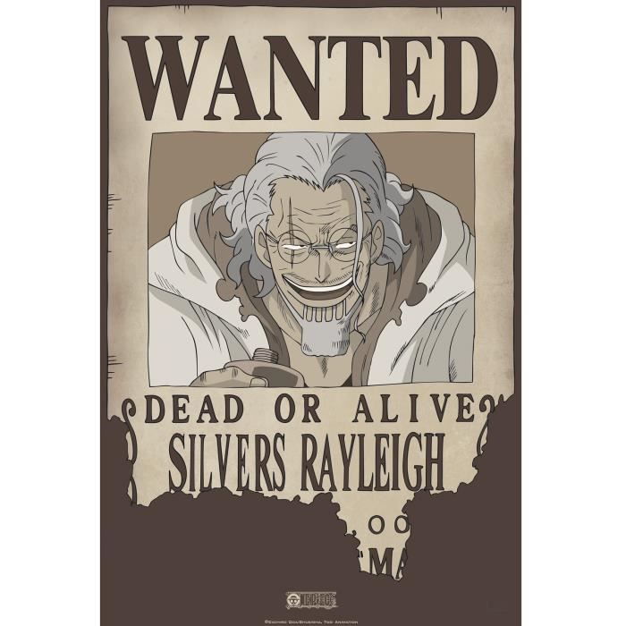 ABYstyle - One Piece - Poster - Wanted Rayleigh (52x35)