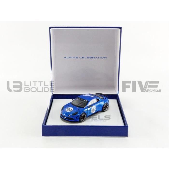 Voiture Miniature de Collection - NOREV 1/43 - ALPINE A110 Celebration - Goodwood 2016 - Alpine Blue - 7711782401