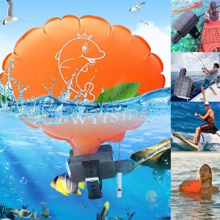 Articles de natation Le coussin gonflable d'auto-assistance de dispositif de flottaison de secours de bracelet empêche la noyade