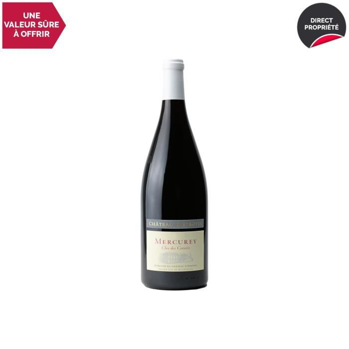 Mercurey Le Clos des Corvées MAGNUM Rouge 2018 - 150cl - Château d'Etroyes - Vin AOC Rouge de Bourgogne - Cépage Pinot Noir
