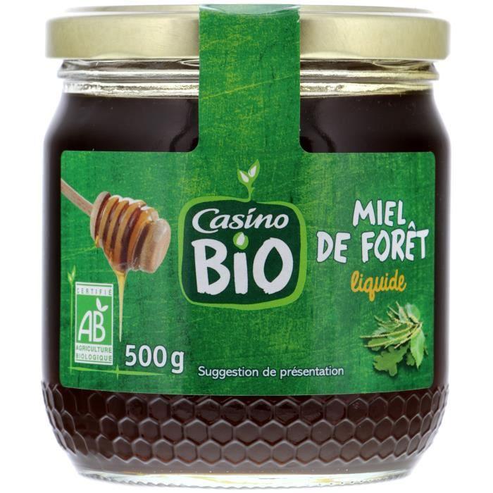 CASINO Miel Liquide Bio Foret - 500G