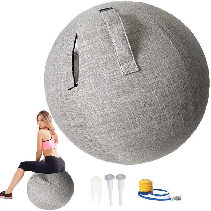 BALLON SUISSE - GYM BALL - SWISS BALL POIUYT Swiss Ball Grossesse 55-65 - 75cm R&eacuteSistant &agrave La Salet&eacute avec P497