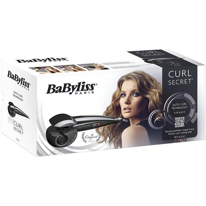 Fers à boucler Babyliss - C900E - Curl Secret Fer à Boucler Noir 67884