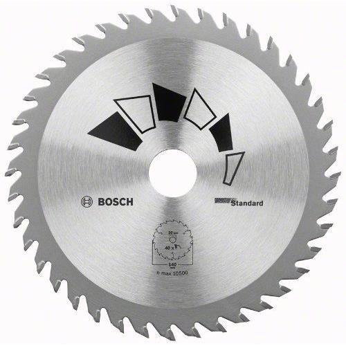 Bosch 2609256814 Standard Lame de scie circulaire 24 dents carbure Coupe rapide Diamètre 180 mm alésage/alésage avec bague de réd…