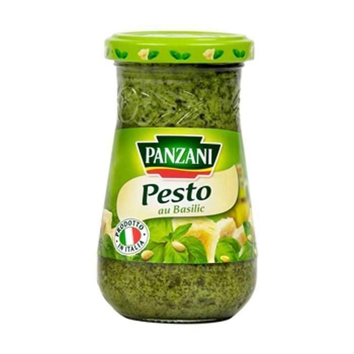 [LOT DE 3] Sauce pesto au basilic frais 200 g Panzani
