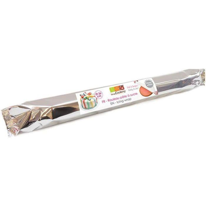 Scrapcooking - Rouleau de pâte à sucre blanche