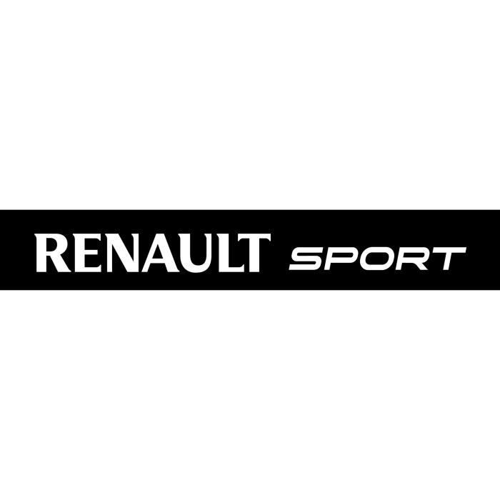 sticker pare soleil renault sport dimensions achat vente stickers cdiscount. Black Bedroom Furniture Sets. Home Design Ideas