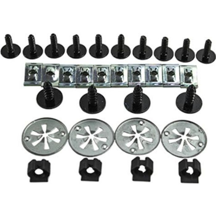 kit de fixation clips pour cache moteur vw golf iv 1998 2004 vw bora 1998 vw beetle 1998 1 2005. Black Bedroom Furniture Sets. Home Design Ideas