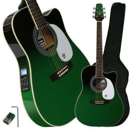 lindo guitars zombie guitare lectro acoustique pan coup. Black Bedroom Furniture Sets. Home Design Ideas