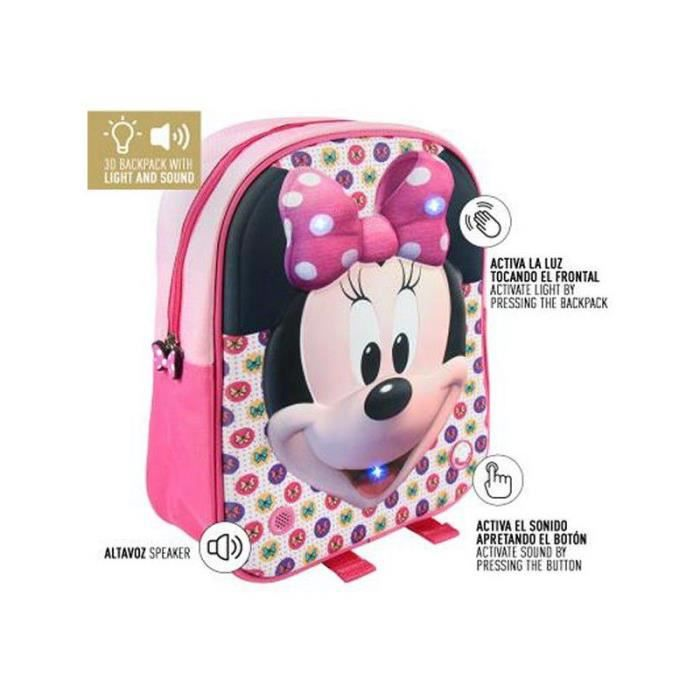 CARTABLE Cartable 3D Minnie Mouse