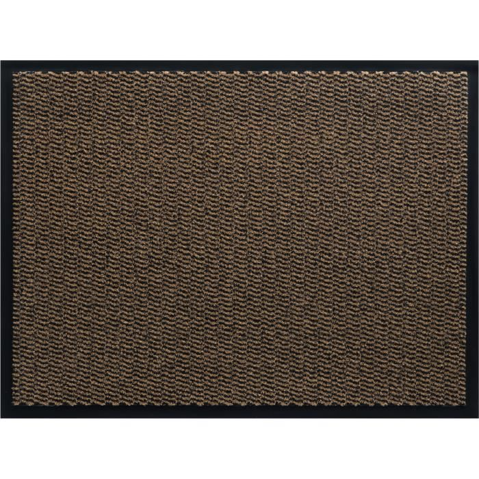 tapis d 39 entr e marron achat vente tapis d 39 entr e marron pas cher cdiscount. Black Bedroom Furniture Sets. Home Design Ideas