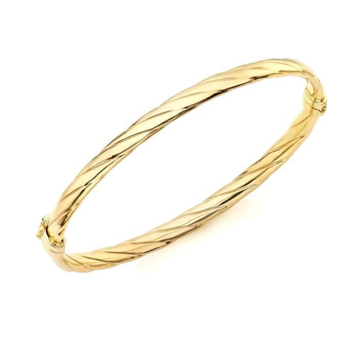 9 Cts Carissima Gold Charms Femme 0.45 Gr Or Jaune 375//1000
