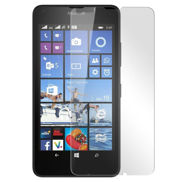 film verre tremp nokia microsoft lumia 640 protection ecran achat film protect t l phone. Black Bedroom Furniture Sets. Home Design Ideas