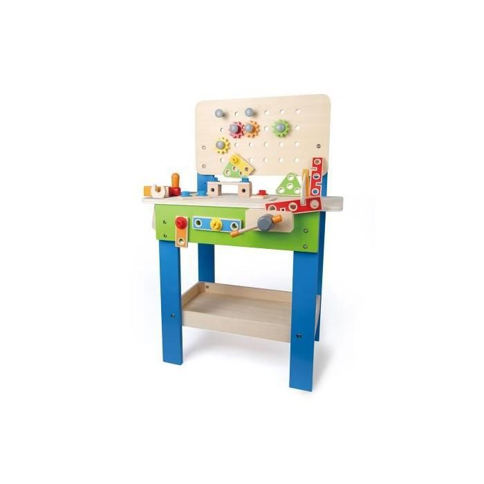etabli en bois enfant hape achat vente bricolage. Black Bedroom Furniture Sets. Home Design Ideas