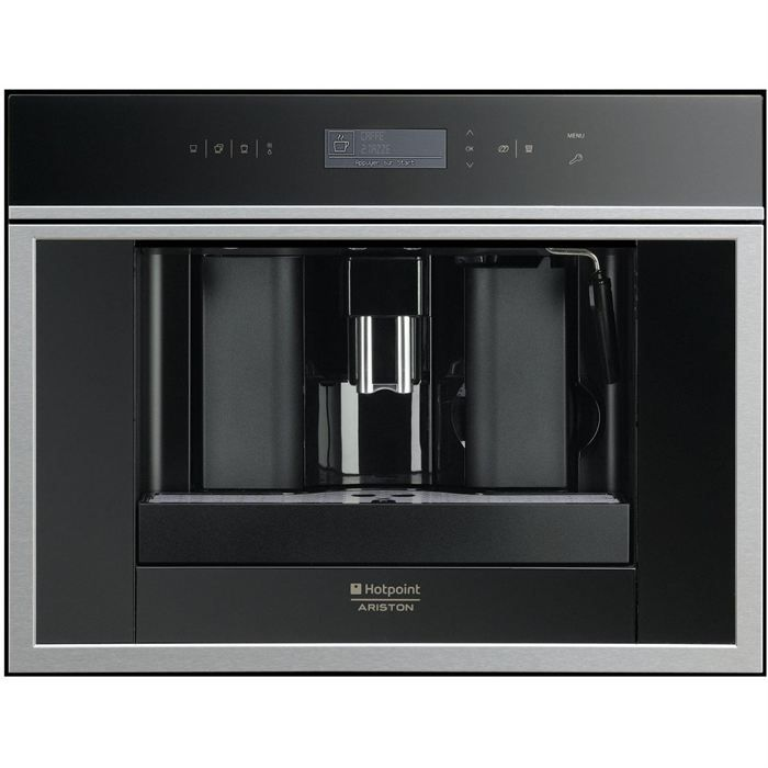 hotpoint mck 103hax machine a cafe encastrable achat. Black Bedroom Furniture Sets. Home Design Ideas