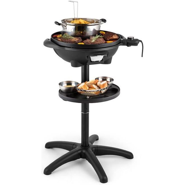 klarstein grillpot grill lectrique barbecue de table. Black Bedroom Furniture Sets. Home Design Ideas