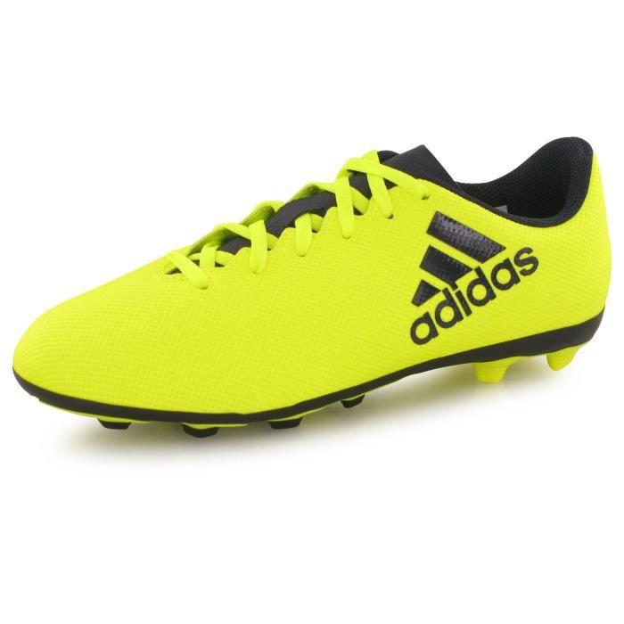 Adidas Performance X 17.4 Fg jaune, chaussures de football homme ...