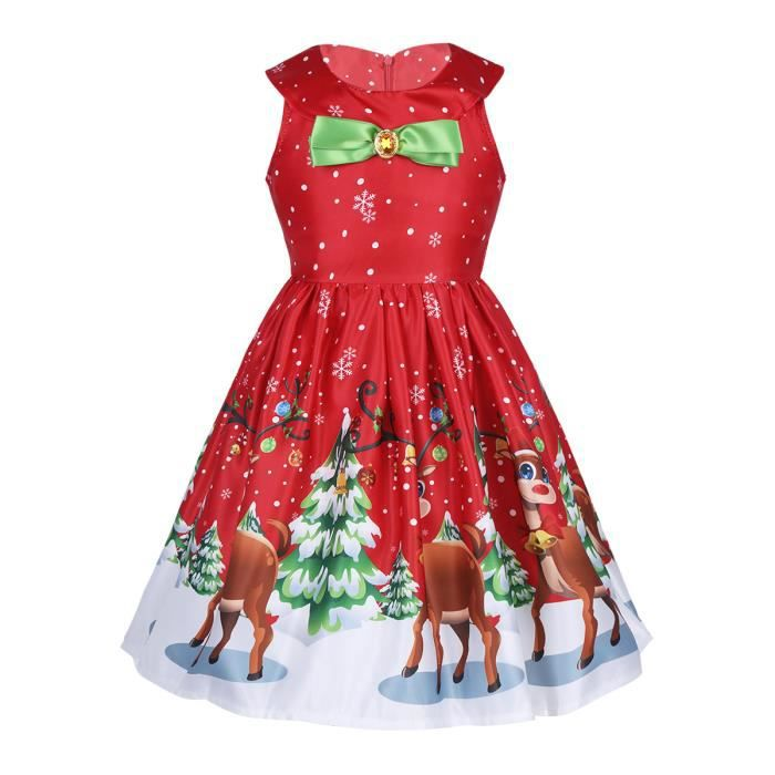 5decaf91c305b Robe Princesse Noël Fille Enfant