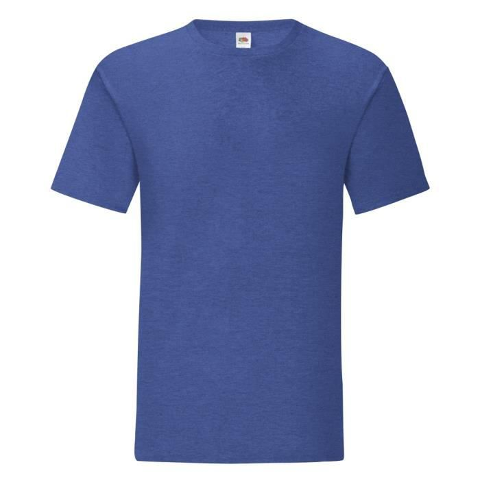 Tee shirt homme fruit of the loom - Achat