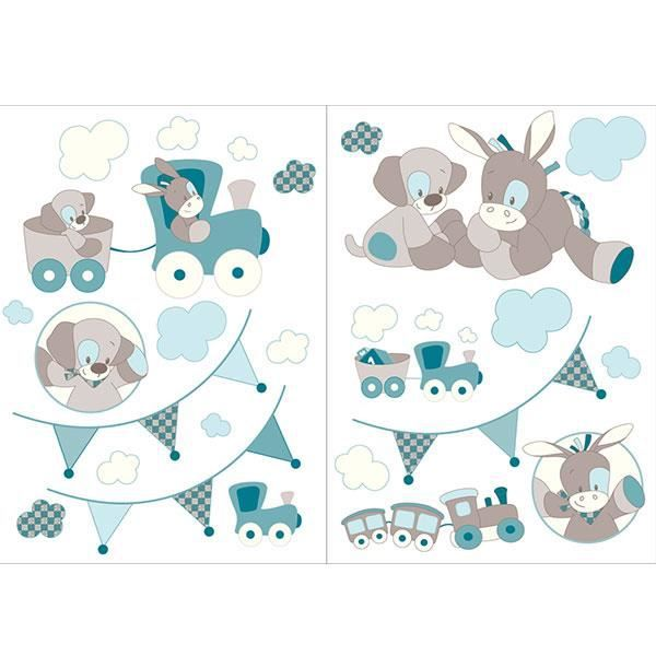 Stickers gaston cyril achat vente stickers cdiscount for Stickers deco chambre garcon