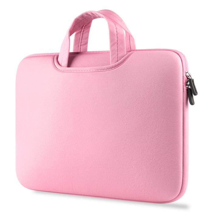 Housse Air Rose Et Macbook 4 Ordinateur Porte Mac Pouces Pro Pour documents Portable 15 Sacoche Apple Book IORHvH