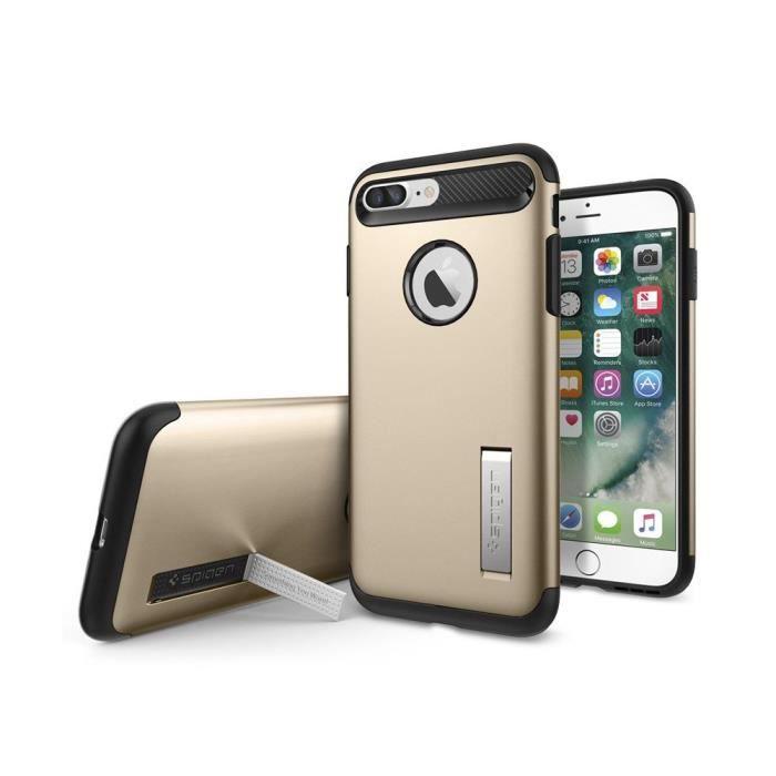 spigen coque slim armor for iphone 7 plus rose gol