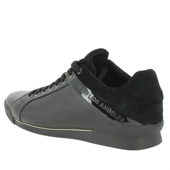 Baskets Guess Sapphire Low grises charcoal en toile. GRIS