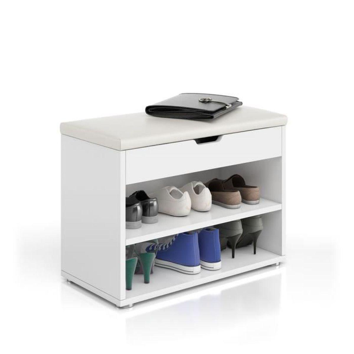 Meuble Rangement Chaussures Entree meuble à chaussures tabouret d'entrée rangement chaussures
