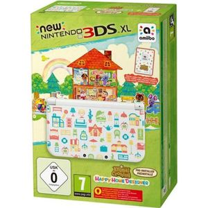 CONSOLE NEW 3DS XL New 3DS XL + Animal Crossing Happy Home Designer P