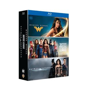 DVD SÉRIE Coffret 3 films DC Universe : Justice League, Wond