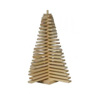 SAPIN - ARBRE DE NOËL Sapin en bois 40 cm - BALMAY BOIS