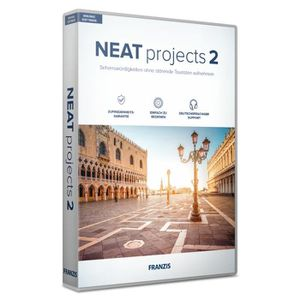 MULTIMÉDIA Franzis NEAT projects 2, Allemand, 1 licence(s), W